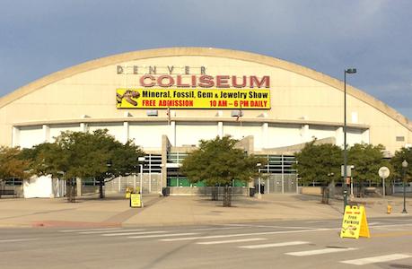 2017 Denver Coliseum Mineral, Fossil & Gem Show Doubles in Size