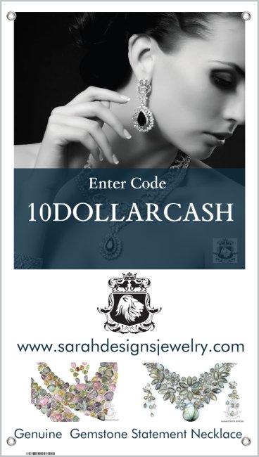 SARAH DESIGNS JEWELRY                   Oct 12-15, 2017 TransWorld's Jewelry, Fashion & Accessories Show