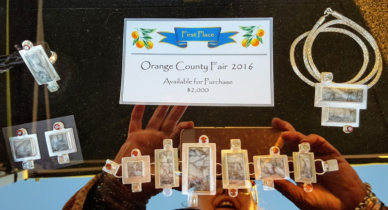 This Stan McCall design took First Place at the 2017 Orange County Fair. 