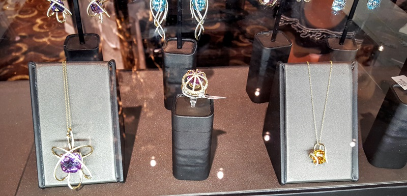 Arya Esha's Siren Ring and Orbit Collection in the exclusive Elite Enclave at JCK Las Vegas