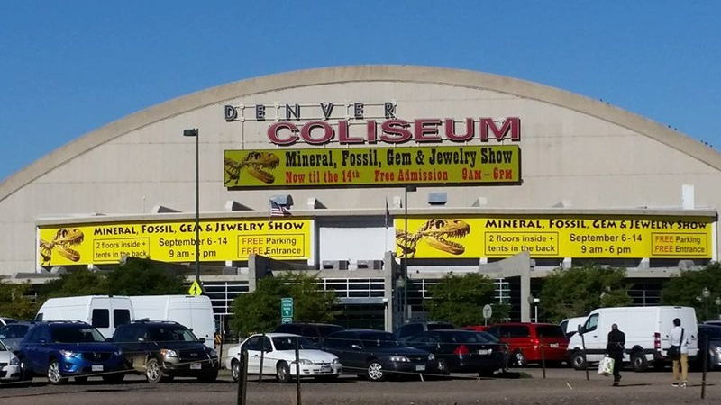 The Mineral, Fossil, Gem & Jewelry Show at the Denver Coliseum Denver Shows        Photos: Robyn Hawk