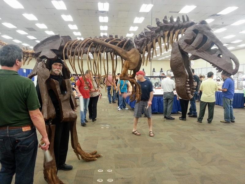 Mr. Bones delights the children & adults alike at the Denver Gem & Mineral Show at the Denver Mart/Expo Center Denver Shows        Photos: Robyn Hawk