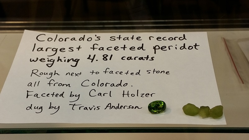 State records fell for faceted Peridot in 2014 at the Denver Coliseum Show Denver Shows     Photos: Robyn Hawk