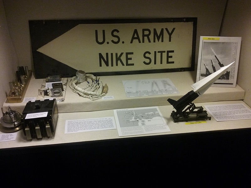 PAST EXHIBIT:  the Nike missile base explosion in Middletown, NJ.