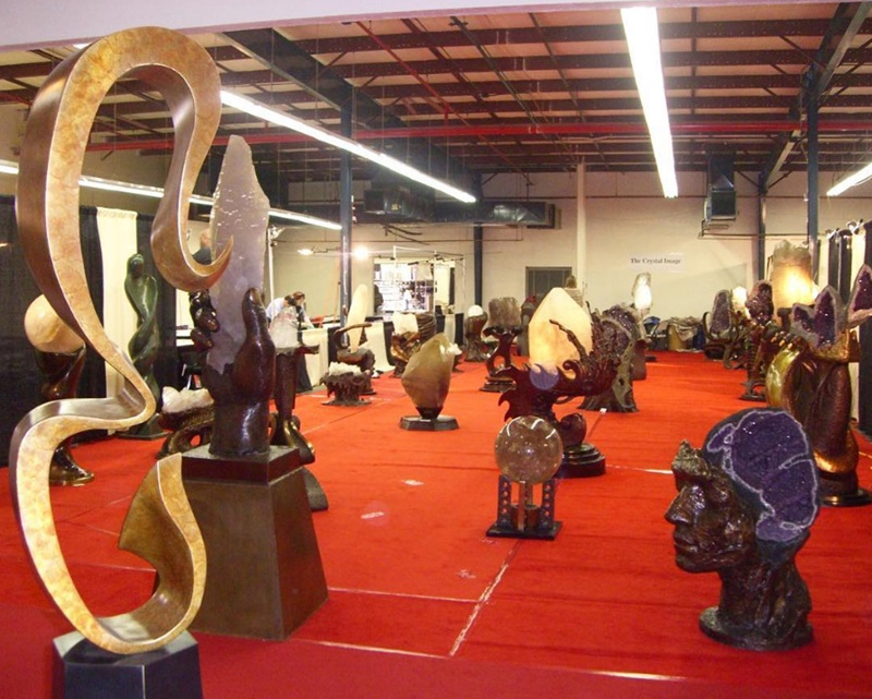 At a past show, an exhibitor brought amazing gemstone carvings and statues! What secrets will you find at this year's show?